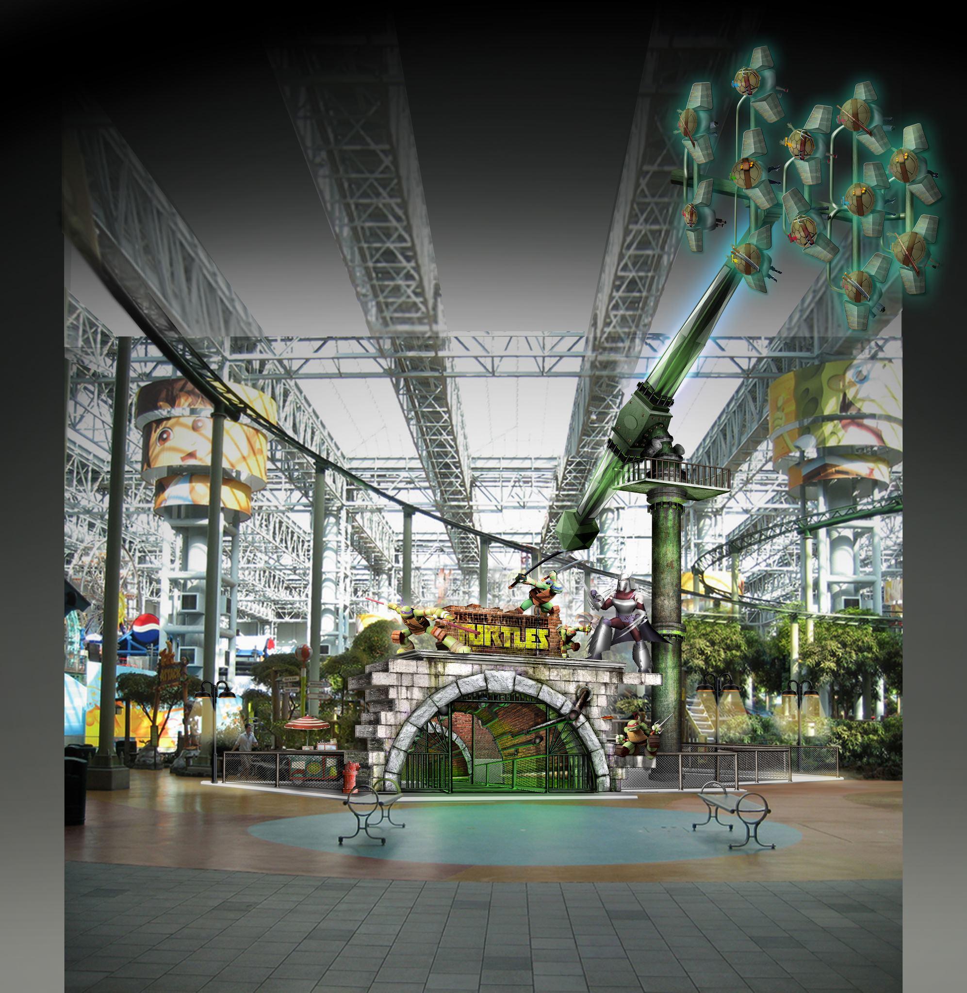 TMNT Theme Ride