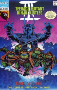 TMNT The Movie III Cover