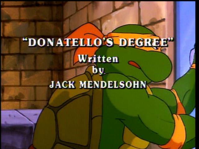 1990 Original Fred Wolf Series – Episode 097 (Donatello's ...