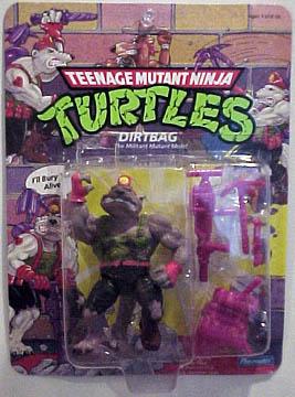 1991 Dirtbag Complete TMNT Vintage Teenage Mutant Ninja Turtles Figure