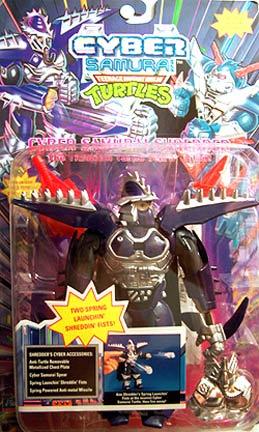 Playmates 1994 Cyber Samurai Shredder Teenage Mutant Ninja Turtles