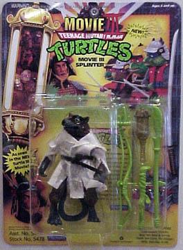 Playmates 1992 Movie Iii Splinter Teenage Mutant Ninja Turtles