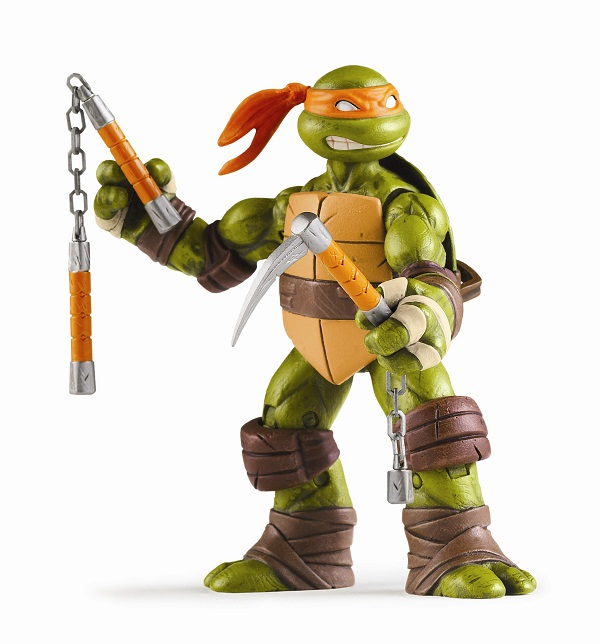 Playmates 2012 Michelangelo Teenage Mutant Ninja Turtles
