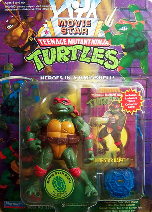 playmates 1994 movie star raph reissue teenage