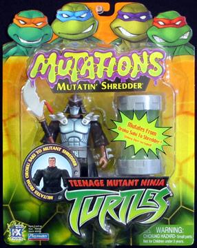 Playmates 2003 Mutatin Shredder Teenage Mutant Ninja Turtles