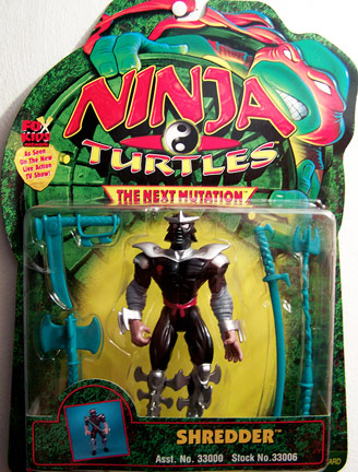 Playmates 1997 Next Mutation Shredder Teenage Mutant Ninja Turtles
