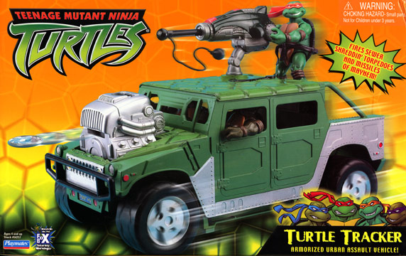 Teenage Mutant Ninja Turtles 2003 Toys : Playmates turtle tracker teenage mutant ninja turtles