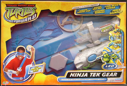 Playmates 2006 Ninja Tek Gear Leo Teenage Mutant Ninja Turtles