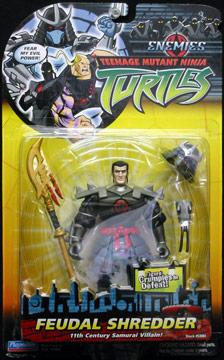 Playmates 2005 Feudal Shredder Teenage Mutant Ninja Turtles