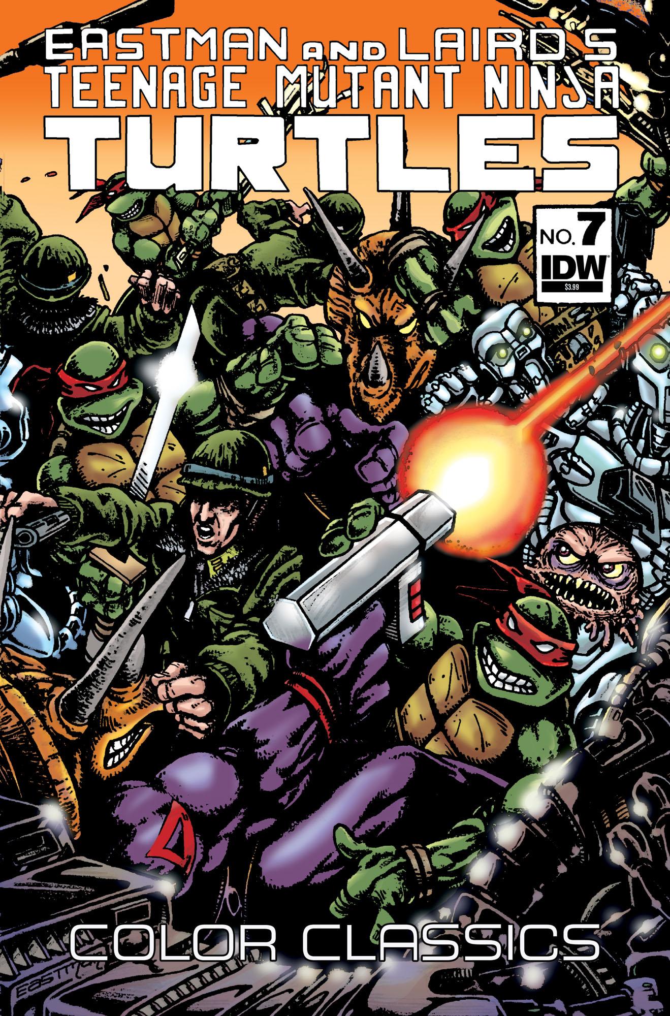idw teenage mutant ninja turtles color classics number 07
