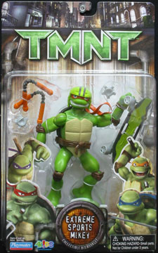 Playmates 2007 Extreme Sports Mikey Teenage Mutant Ninja Turtles
