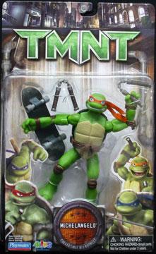 Playmates 2007 Michelangelo Teenage Mutant Ninja Turtles