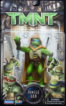 Playmates 2007 Jungle Leo Teenage Mutant Ninja Turtles