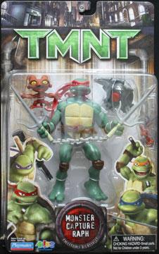 Playmates 2007 Monster Capture Raph Teenage Mutant Ninja Turtles
