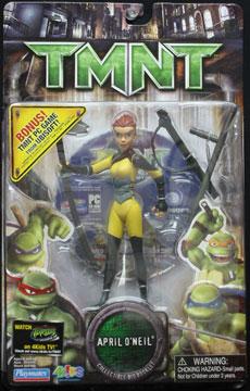 Playmates 2007 April O Neil Teenage Mutant Ninja Turtles