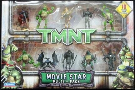 Playmates 2007 Movie Star Multi Pack Teenage Mutant Ninja Turtles