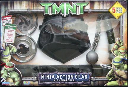 Playmates 2007 Ninja Action Gear Nightwatcher Teenage Mutant