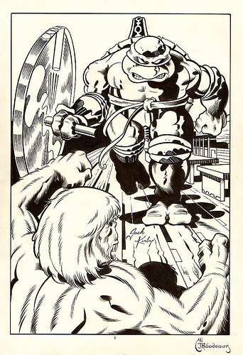 Michaelangelo by Jack Kirby
